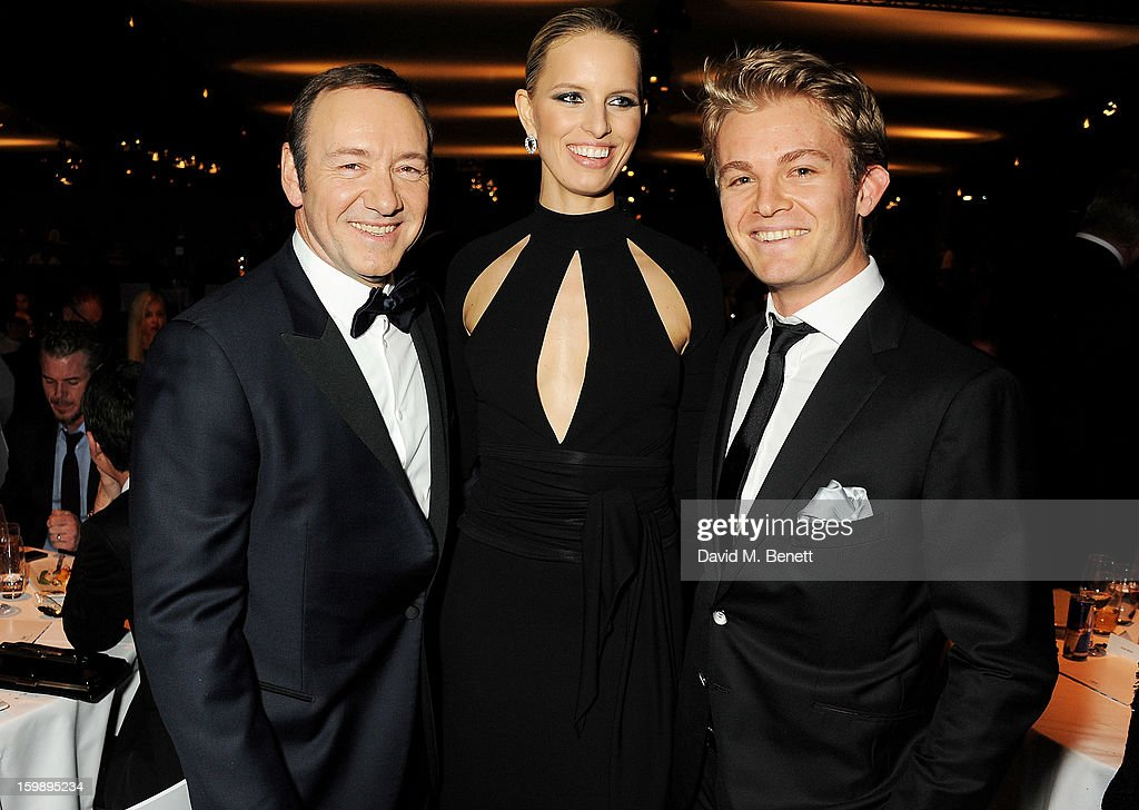 <a gi-track='captionPersonalityLinkClicked' href=/galleries/search?phrase=Kevin+Spacey&family=editorial&specificpeople=202091 ng-click='$event.stopPropagation()'>Kevin Spacey</a>, <a gi-track='captionPersonalityLinkClicked' href=/galleries/search?phrase=Karolina+Kurkova&family=editorial&specificpeople=202513 ng-click='$event.stopPropagation()'>Karolina Kurkova</a> and <a gi-track='captionPersonalityLinkClicked' href=/galleries/search?phrase=Nico+Rosberg&family=editorial&specificpeople=800808 ng-click='$event.stopPropagation()'>Nico Rosberg</a> attend the IWC Schaffhausen Race Night event during the Salon International de la Haute Horlogerie (SIHH) 2013 at Palexpo on January 22, 2013 in Geneva, Switzerland.