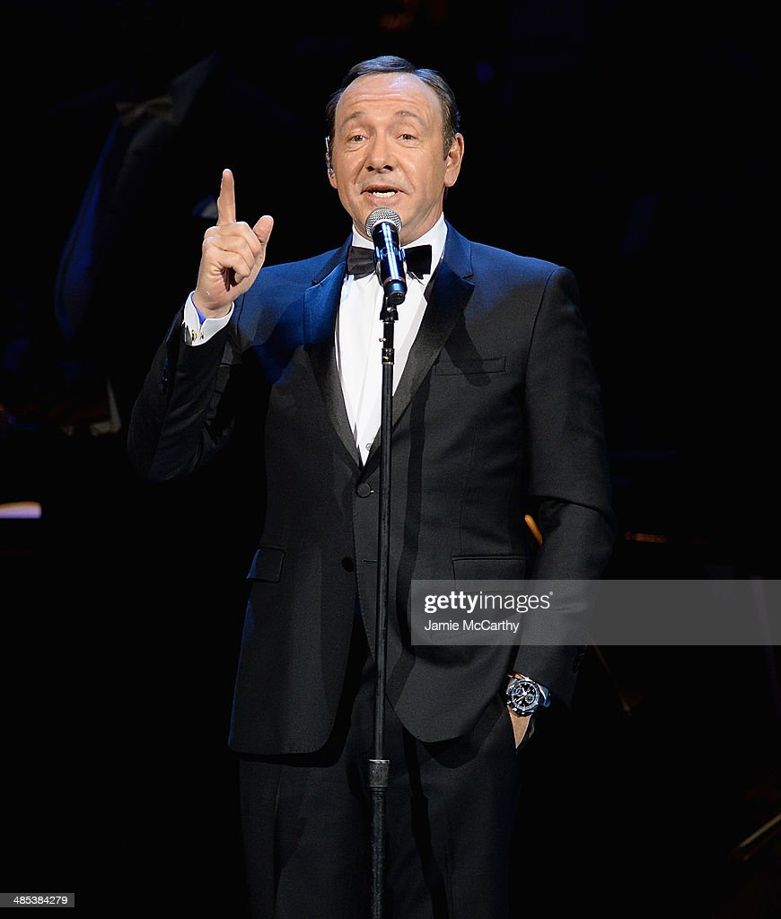 <a gi-track='captionPersonalityLinkClicked' href=/galleries/search?phrase=Kevin+Spacey&family=editorial&specificpeople=202091 ng-click='$event.stopPropagation()'>Kevin Spacey</a> performs during the 25th Anniversary Rainforest Fund Benefit Concert at Carnegie Hall on April 17, 2014 in New York City.