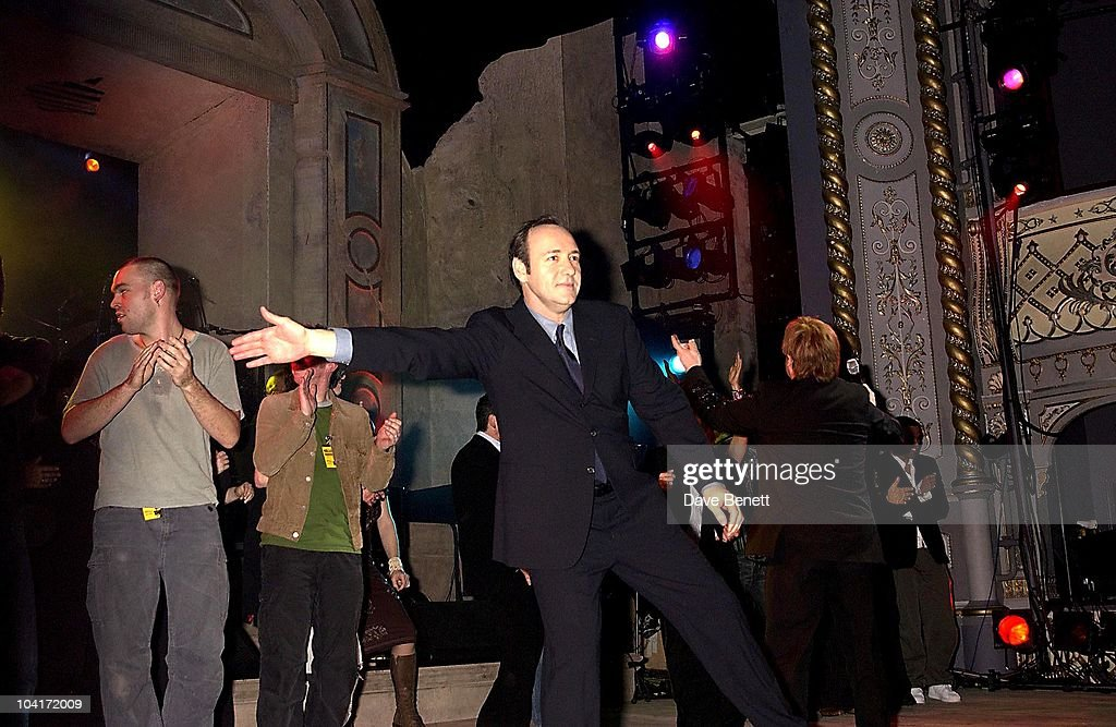Kevin Spacey, The Old Vic Theatre Benefit Party Held At The Old Vic Theatre London.