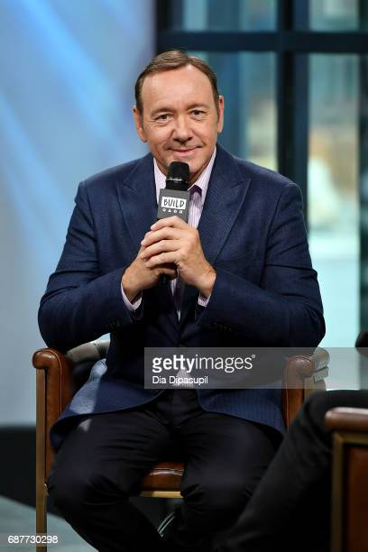 Kevin Spacey visits the Build Series to discuss his new play 'Clarence Darrow' at Build Studio on May 24 2017 in New York City