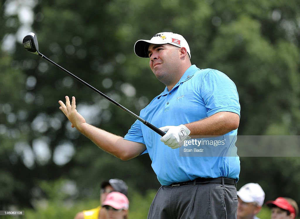 <a gi-track='captionPersonalityLinkClicked' href=/galleries/search?phrase=Kevin+Stadler&family=editorial&specificpeople=565814 ng-click='$event.stopPropagation()'>Kevin Stadler</a> reacts to his tee shot on the ninth hole during the third round of the FedEx St. Jude Classic at TPC Southwind on June 9, 2012 in Memphis, Tennessee.