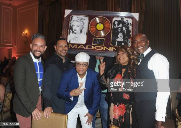 Kevin Stea Luis Camacho Oliver S Crumes III Thea Austin and Carlton Wilborn at the Entertainment AIDS Alliance's Annual EAA Wine Wisdom Vision Event...