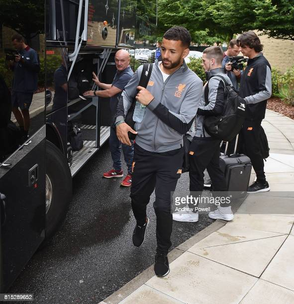 Kevin Stewart of Liverpool before pre season tour at Melwood Training Ground on July 16 2017 in Liverpool England