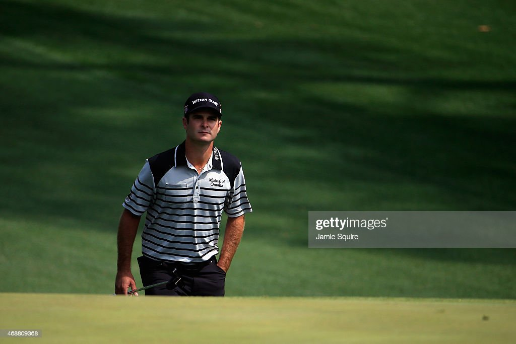 <a gi-track='captionPersonalityLinkClicked' href=/galleries/search?phrase=Kevin+Streelman&family=editorial&specificpeople=4687006 ng-click='$event.stopPropagation()'>Kevin Streelman</a> of the United States looks on as he walks up a fairway during a practice round prior to the start of the 2015 Masters Tournament at Augusta National Golf Club on April 7, 2015 in Augusta, Georgia.