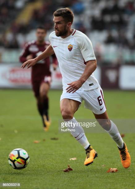 Kevin Strootman during Serie A match between Torino v Roma in Turin on October 22 2017