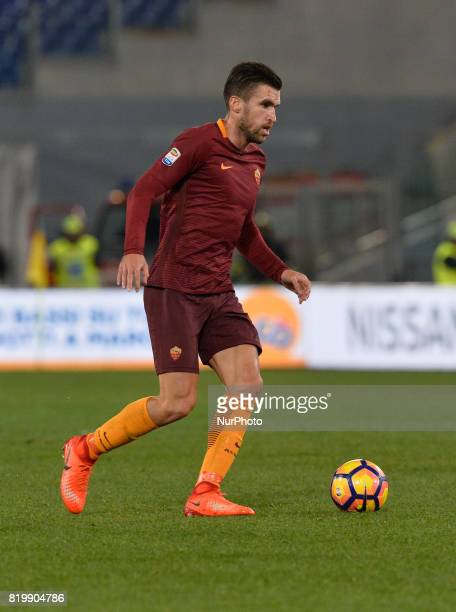 Kevin Strootman during the Italian Serie A football match between AS Roma and FC Torino at the Olympic Stadium in Rome on february 19 2017