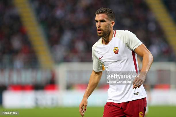 Kevin Strootman of As Roma during the Serie A football match between AC Milan and As Roma As Roma wins 20 over Ac Milan