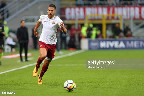 Kevin Strootman of As Roma in action during the Serie A football match between AC Milan and As Roma As Roma wins 20 over Ac Milan