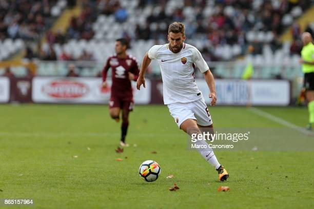 Kevin Strootman of As Roma in action during the Serie A football match between Torino Fc and As Roma As Roma wins 10 over Torino Fc