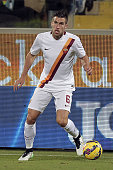Kevin Strootman of AS Roma in action during the Serie A match between ACF Fiorentina and AS Roma at Stadio Artemio Franchi on January 25 2015 in...