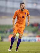 Kevin Strootman of Holland during the International friendly match betwen Republic of Ireland and Netherlands on May 27 2016 at the Aviva stadium in...