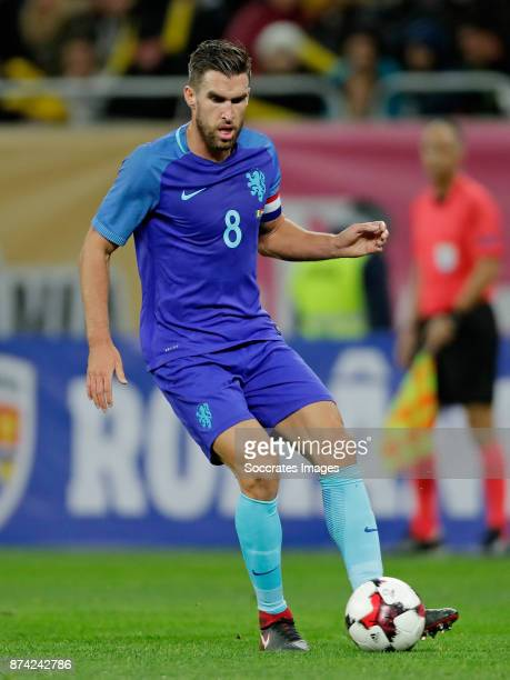 Kevin Strootman of Holland during the International Friendly match between Romania v Holland at the Arena Nationala on November 14 2017 in Bucharest...