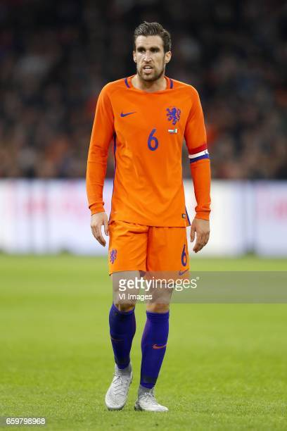 Kevin Strootman of Hollandduring the friendly match between Netherlands and Italy at the Amsterdam Arena on March 28 2017 in Amsterdam The Netherlands