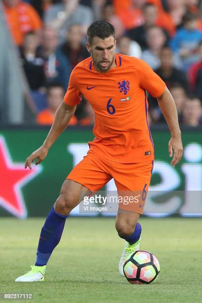 Kevin Strootman of Hollandduring the friendly match between The Netherlands and Ivory Coast at the Kuip on June 4 2017 in Rotterdam The Netherlands