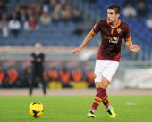 Kevin Strootman of Roma in action during the Serie A match between AS Roma and AC Chievo Verona at Stadio Olimpico on October 31 2013 in Rome Italy