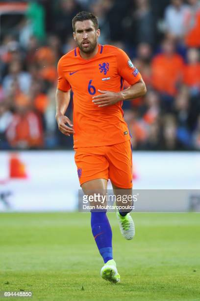 Kevin Strootman of the Netherlands in action during the FIFA 2018 World Cup Qualifier between the Netherlands and Luxembourg held at De Kuip or...