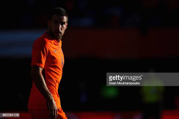Kevin Strootman of the Netherlands looks on during the International Friendly match between the Netherlands and Ivory Coast held at De Kuip or...