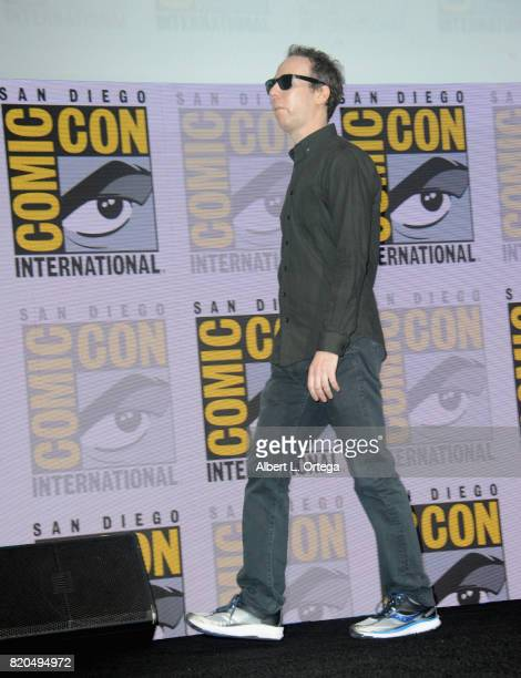 Kevin Sussman speaks onstage at ComicCon International 2017 'The Big Bang Theory' panel at San Diego Convention Center on July 21 2017 in San Diego...