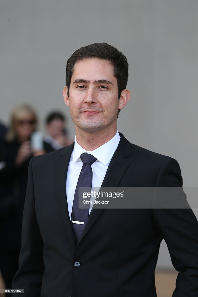 <a gi-track='captionPersonalityLinkClicked' href=/galleries/search?phrase=Kevin+Systrom&family=editorial&specificpeople=7804585 ng-click='$event.stopPropagation()'>Kevin Systrom</a>, CEO of Instagram attends the Burberry Prorsum show at London Fashion Week SS14 at Kensington Gardens on September 16, 2013 in London, England.