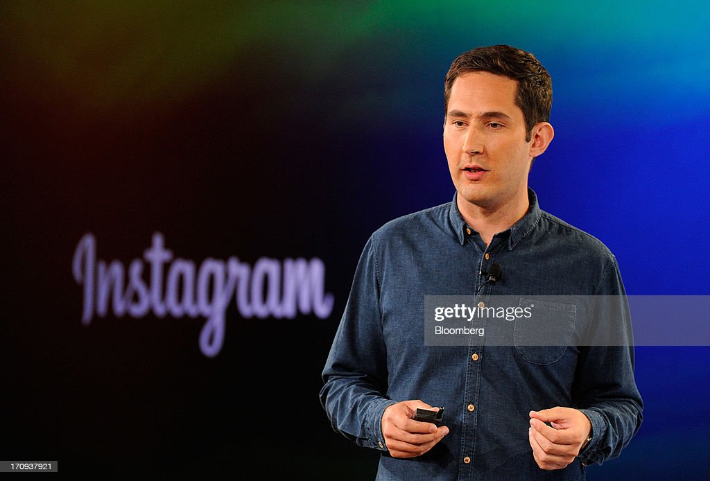 <a gi-track='captionPersonalityLinkClicked' href=/galleries/search?phrase=Kevin+Systrom&family=editorial&specificpeople=7804585 ng-click='$event.stopPropagation()'>Kevin Systrom</a>, chief executive officer and co-founder of Instagram Inc., speaks during an event at the Facebook Inc. headquarters in Menlo Park, California, U.S., on Thursday, June 20, 2013. Facebook Inc., operator of the largest social network, plans to unveil video-sharing tools, bringing its Instagram into closer competition with Twitter Inc., a person with knowledge of the matter said. Photographer: David Paul Morris/Bloomberg via Getty Images