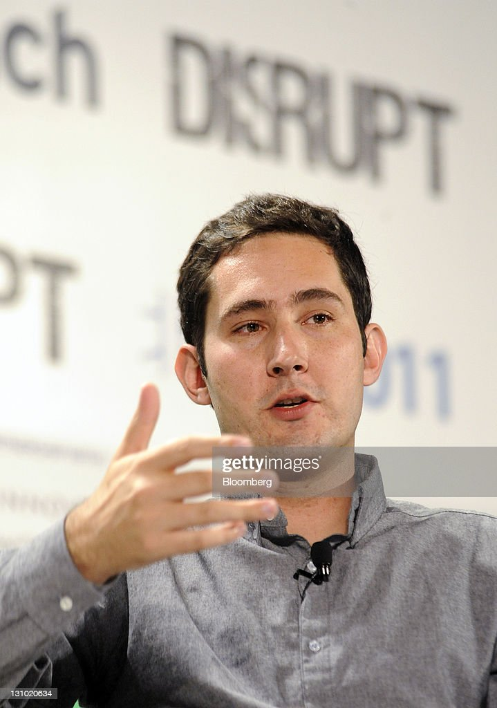 Kevin Systrom, chief executive officer of Instagram, speaks during the TechCrunch Disrupt Beijing conference in Beijing, China, on Tuesday, Nov. 1, 2011. The TechCrunch Disrupt conference concludes today. Photographer: Keith Bedford/Bloomberg via Getty Images