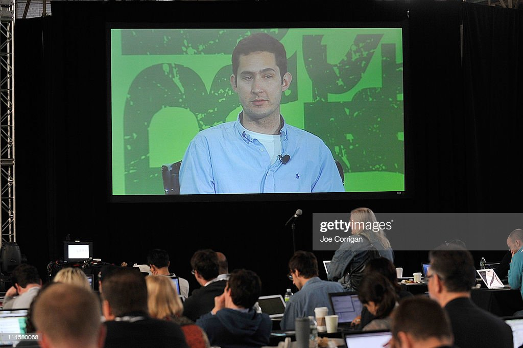 Kevin Systrom of Instagram during TechCrunch Disrupt New York May 2011 at Pier 94 on May 24, 2011 in New York City.