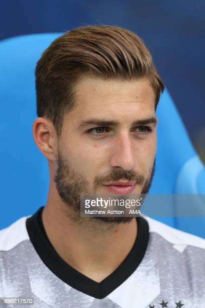 Kevin Trapp of Germany during the FIFA Confederations Cup Russia 2017 Group B match between Australia and Germany at Fisht Olympic Stadium on June 19...