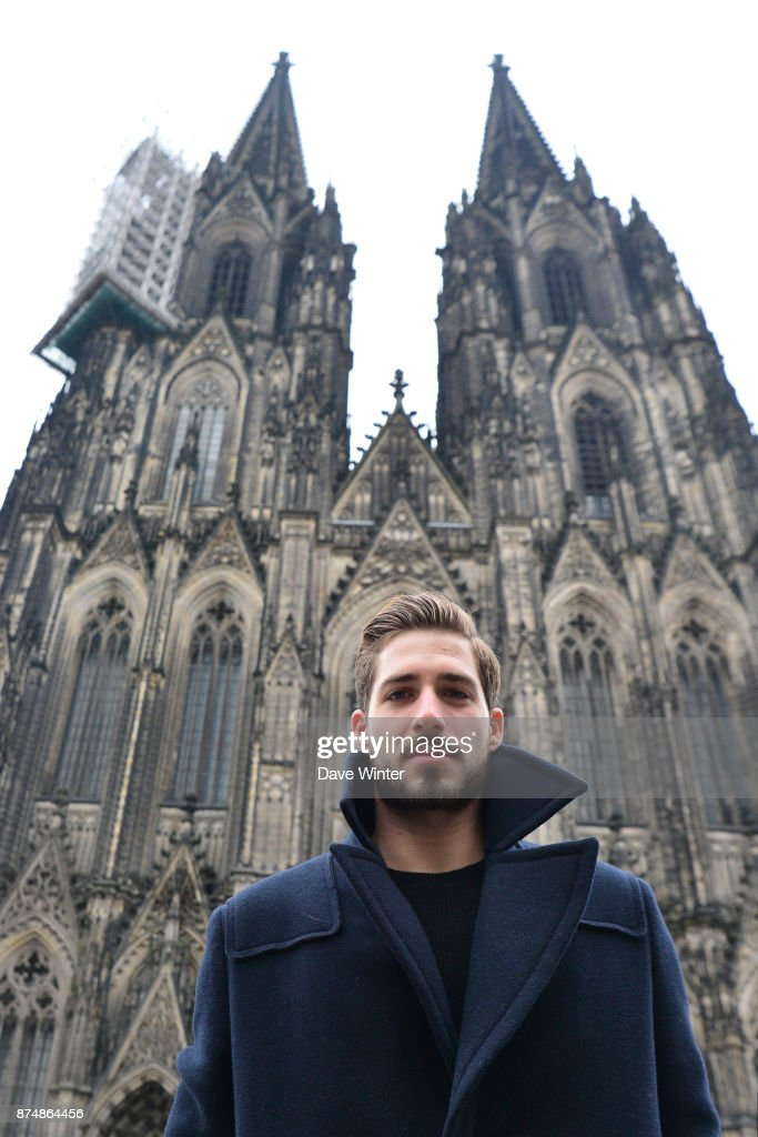 Kevin Trapp of Germany in front of Cologne Cathedral on the morning after the international friendly match between Germany and France at RheinEnergieStadion on November 14, 2017 in Cologne, Germany.