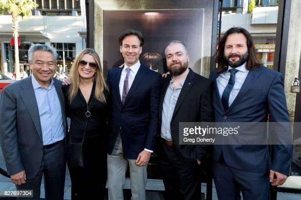 Kevin Tsujihara Chairman and CEO of Warner Bros Carolyn Blackwood President Operations Content Strategy New Line Cinema Peter Safran Producer David...