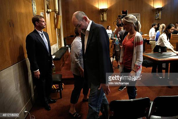 Kevin Turner a former player in the National Football League who developed Amyotrophic Lateral Sclerosis leaves after attanding a hearing of the...