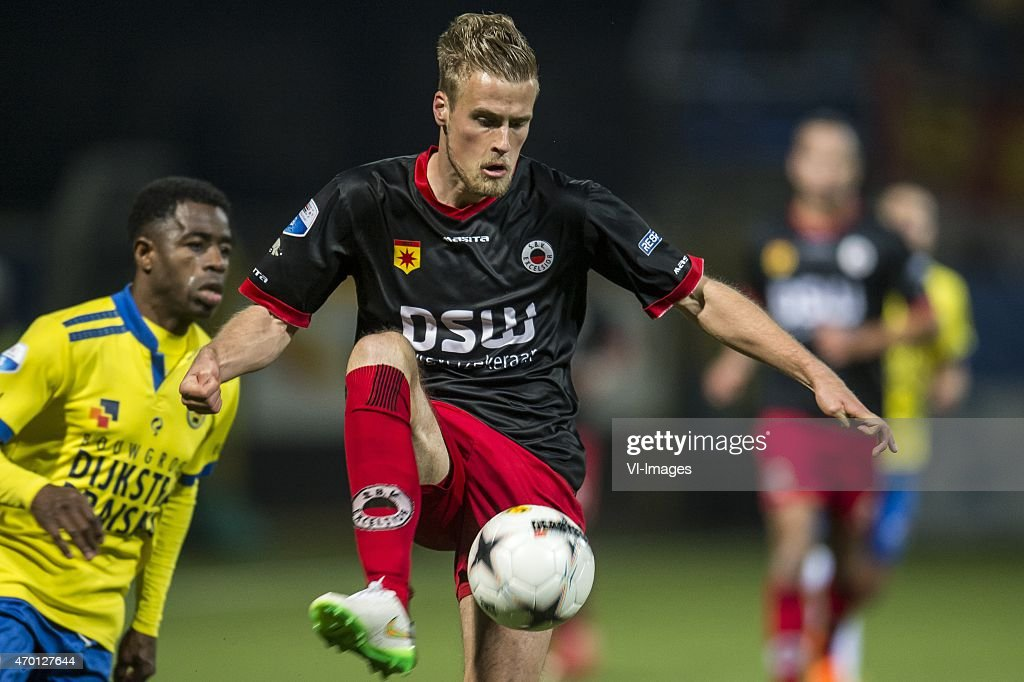 Kevin van Diermen of Excelsior during the Dutch Eredivisie match between SC Cambuur Leeuwarden and Excelsior Rotterdam at the Cambuur Stadium on...