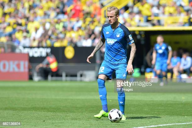 Kevin Vogt of Hoffenheim in action during the Bundesliga match between Borussia Dortmund and TSG 1899 Hoffenheim at Signal Iduna Park on May 6 2017...