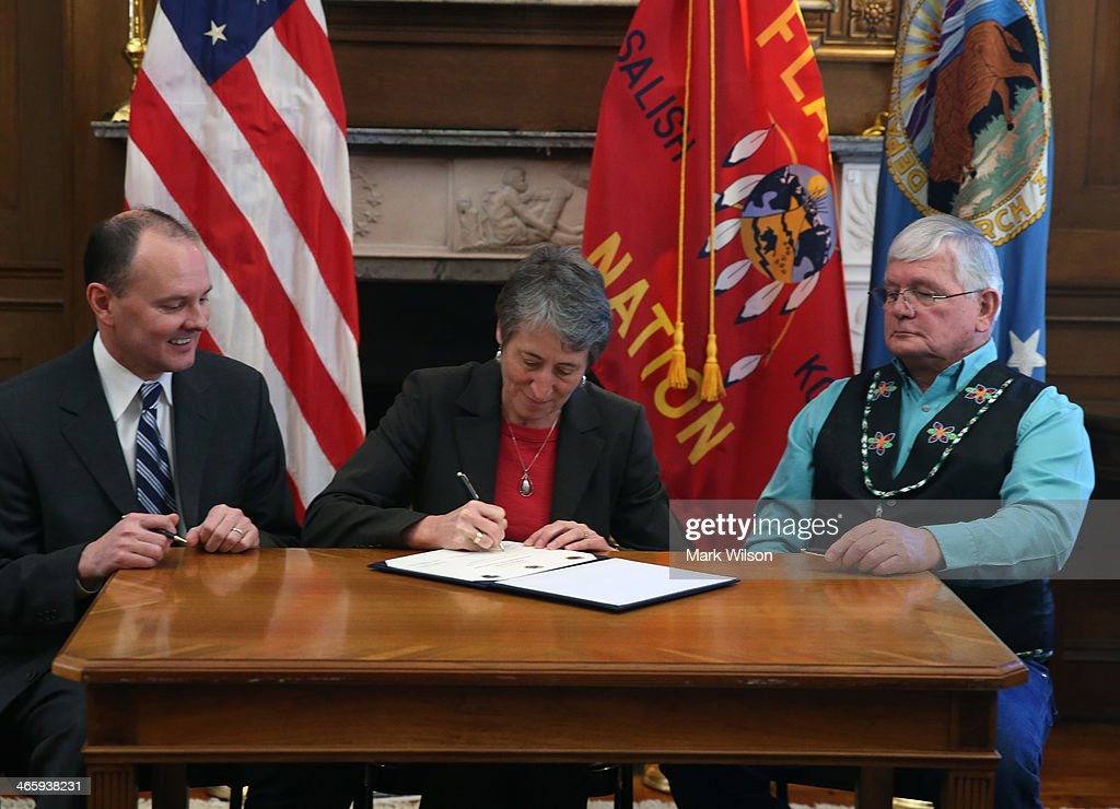 Interior Sally Jewell Announces Buy Back Program For Tribal Lands Getty Images