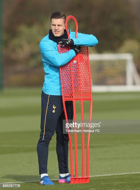 Kevin Wimmer of Tottenham during the Tottenham Hotspur training session at Tottenham Hotspur Training Centre on February 14 2017 in Enfield England