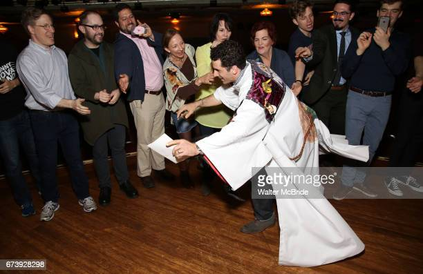 Kevin Worley attends the Actors' Equity Broadway Opening Night Gypsy Robe Ceremony honoring Kevin Worley from 'Bandstand' at the Bernard B Jacobs...