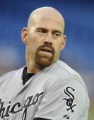 Kevin Youkilis of the Chicago White Sox looks on during MLB game action against the Toronto Blue Jays August 15 2012 at Rogers Centre in Toronto...
