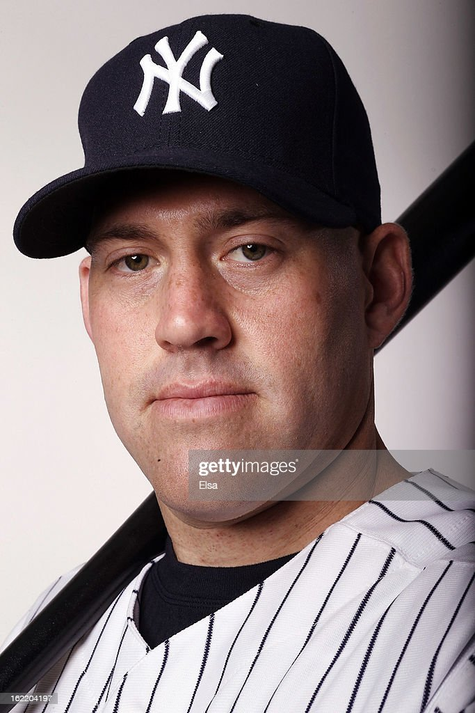 Kevin Youkilis #36 of the New York Yankees poses for a portrait on February 20, 2013 at George Steinbrenner Stadium in Tampa, Florida.