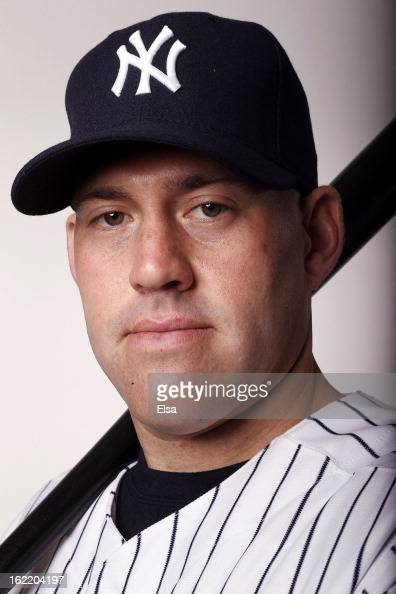 Kevin Youkilis of the New York Yankees poses for a portrait on February 20 2013 at George Steinbrenner Stadium in Tampa Florida