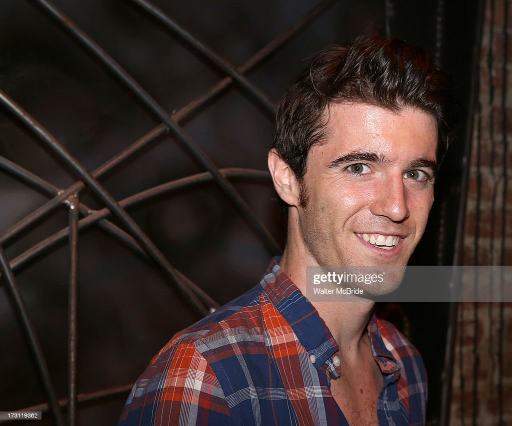 Kevin Zak attends the closing night party for 'Silence! The Musical' at Elektra Theatre on July 7, 2013 in New York City.
