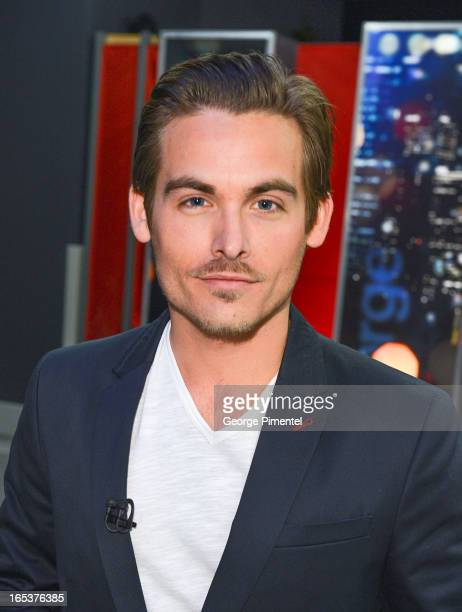 Kevin Zegers appears on 'George Stroumboulopoulos Tonight' at CBC Broadcast Centre on April 3 2013 in Toronto Canada
