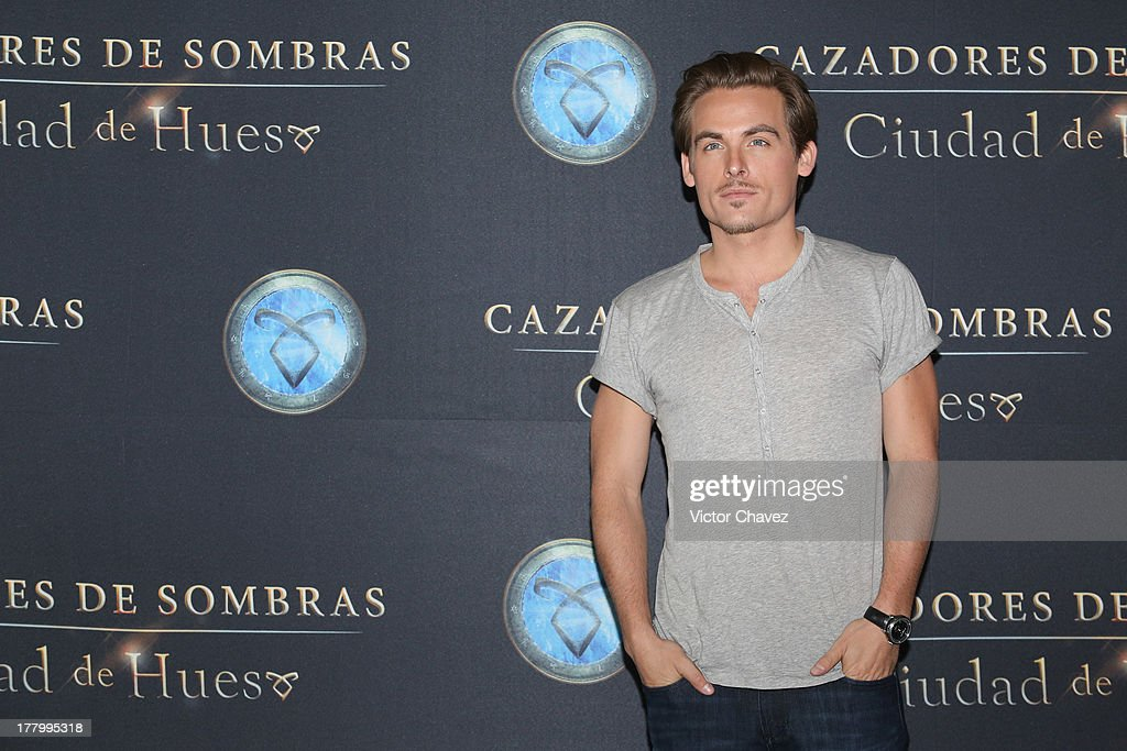 Kevin Zegers attends 'The Mortal Instruments: City of Bones' Mexico City photocall at St Regis Hotel on August 26, 2013 in Mexico City, Mexico.