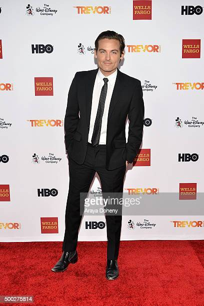 Kevin Zegers attends the TrevorLIVE LA 2015 event at Hollywood Palladium on December 6 2015 in Los Angeles California