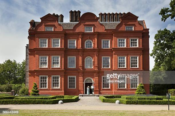 Kew Palace a British Royal Palace in Kew Gardens first occupied by members of the Royal Family in 1734 when it was known as the Dutch House King...