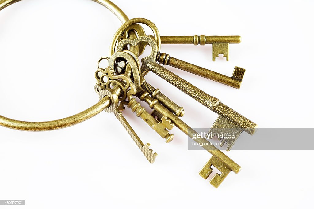 Key closeup : Stock Photo