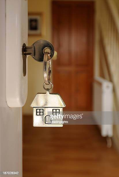 Key in Open Door and Hallway