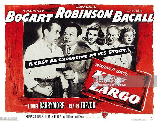 Key Largo is a 1948 film noir directed by John Huston and starring Humphrey Bogart Edward G Robinson and Lauren Bacall The movie was adapted from...
