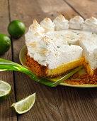 Homemade Key lime pie