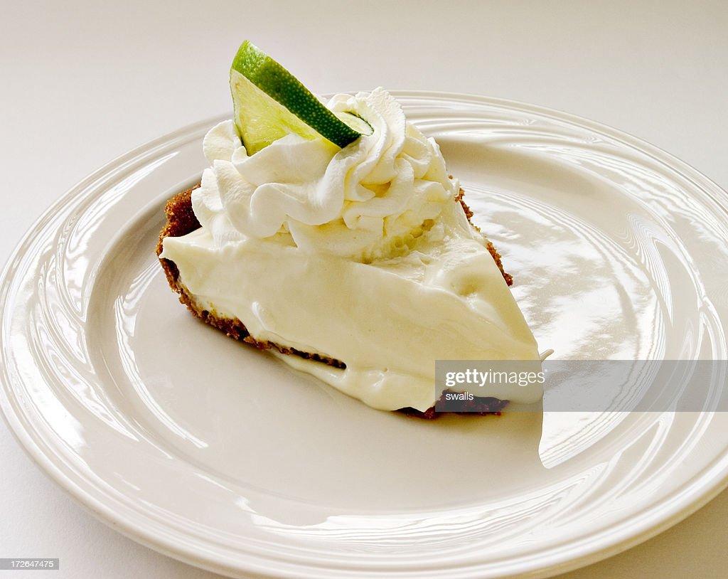 Key Lime Pie : Stock Photo