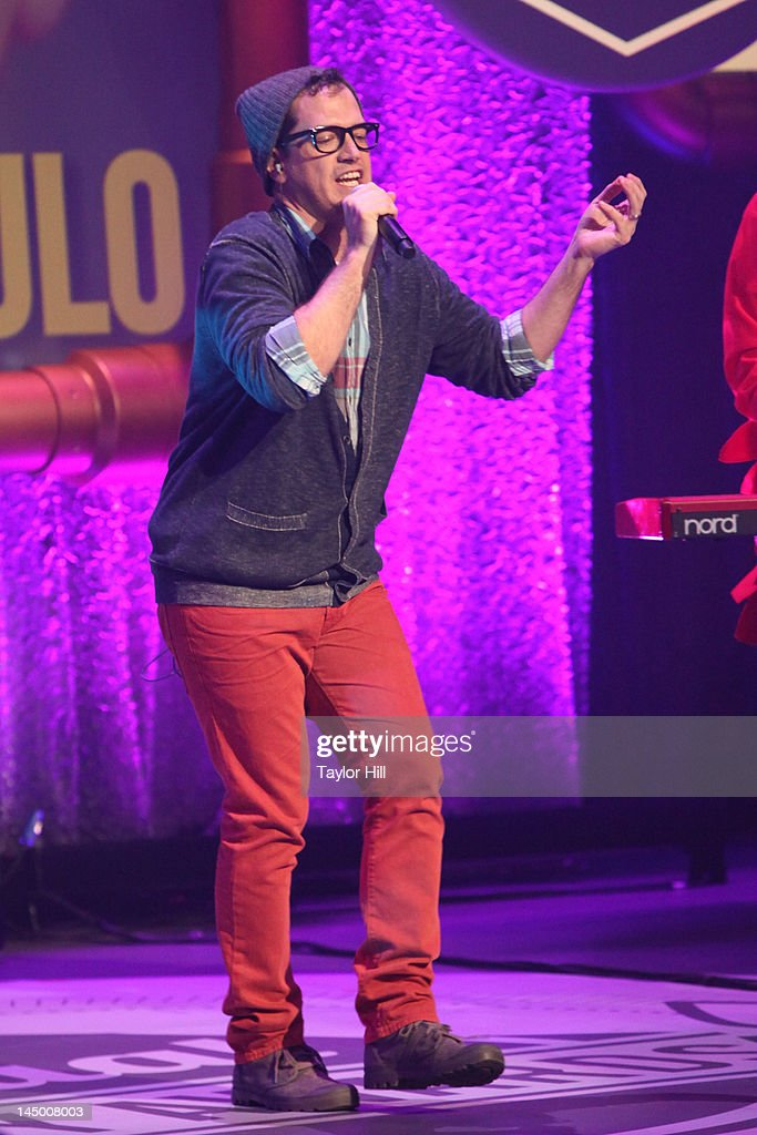 Key of Awesome performs during the 16th Annual Webby Awards at Hammerstein Ballroom on May 21, 2012 in New York City.