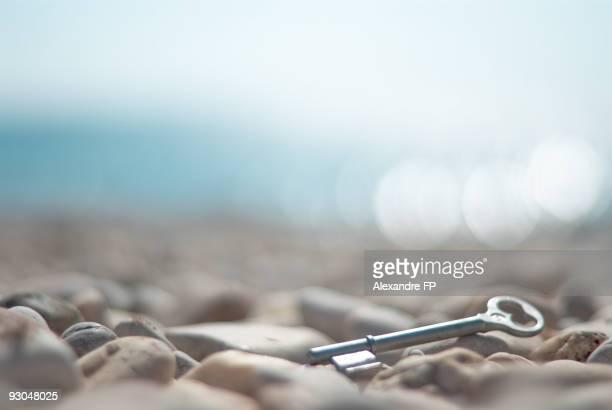key on pebbles
